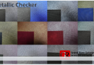 Nonwoven Metallic Checker